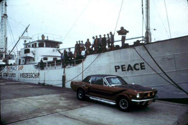 "Schiff des Piratensender ""Voice of Peace"". 1973"